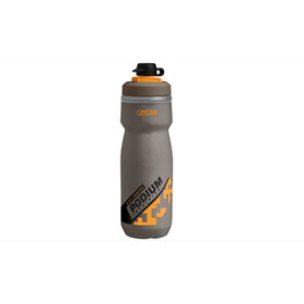 CamelBak Podium Chill Dirt Series Bidon 620ml grijs/oranje